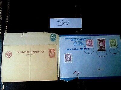 Old Finland Postal History Envelopes - Poor condition