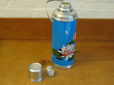 Attractive Retro Style Metal Thermos Flask