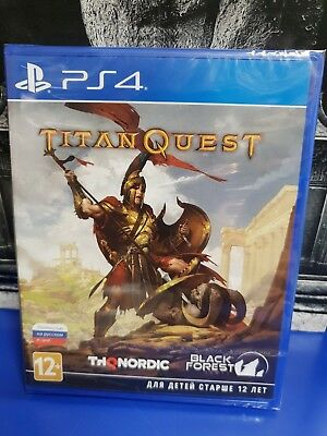 Titan Quest PS4 Brand New / Sealed