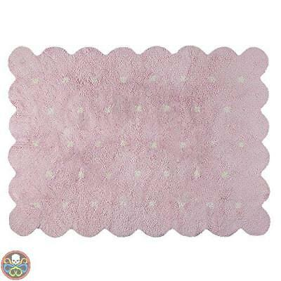Lorena Canals Rosa C-77771-18 Galleta Reversible Pink Beige Washable Nuovo