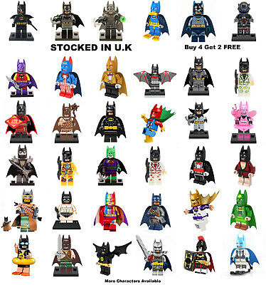 Batman Minifigure Batman Lego & Custom DC Batzarro Joker Mini Figure Zur-En-Arrh