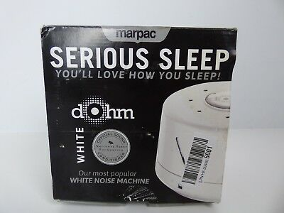 Dohm White Dual Speed Sound Conditioner USED GOOD