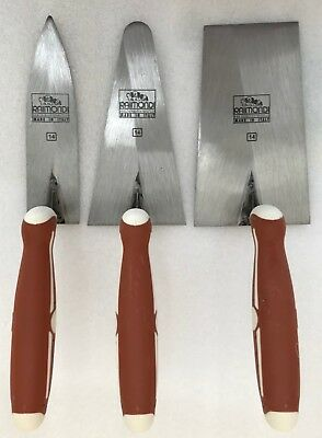 "RAIMONDI 140mm 5.5"" 3pcs Trowel Set"