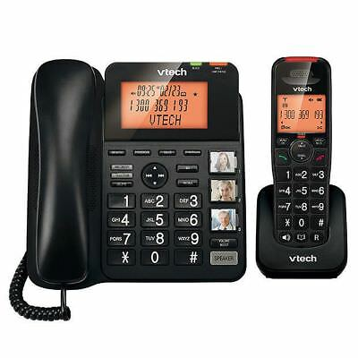 NEW Vtech DECT6.0 Corded/ Cordless Combo Phone CLS16651