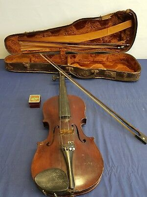 Well used 1/2 natural acoustic Violin  -A6