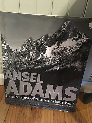 "ANSEL ADAMS ""Landscapes of the American West"" Book -14x17"""