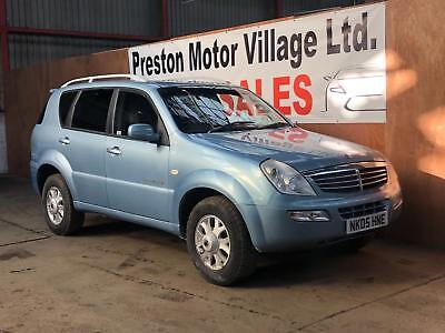 Ssangyong Rexton 2.7TD auto 2007MY RX 270 SE 112K FSH 8 STAMPS TO 98K LEATHER