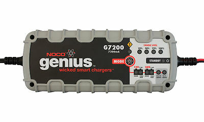 Genius Battery Charger 7.2 Amps