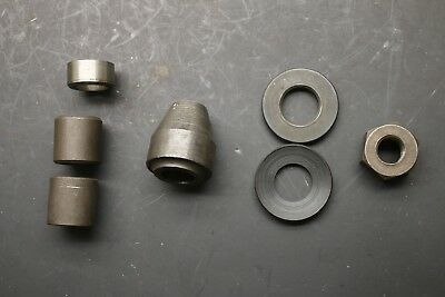 "Adapter & Spacer Set  w/ Nut for Ammco 11/16"" Import Arbor Kit for Brake Lathe"
