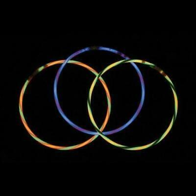 """22"""" Swirl Glow Necklaces (volume & color options)"""