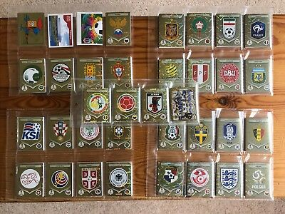 SHINY FOILS just £1.29 each -buy multiple- PANINI WORLD CUP 2018 RUSSIA STICKERS