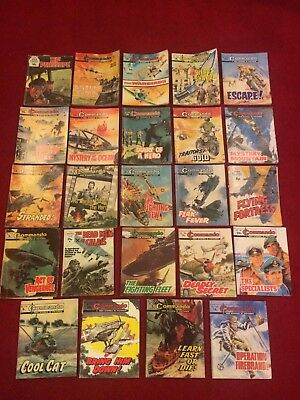 Job Lot of Commando War Picture Library Comics - 24 issues