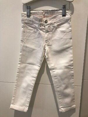 Childrens - Miller White Jeans - NWOT - 3years - Never Worn