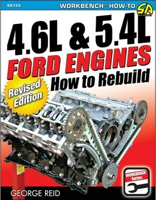 S-A Books How to Rebuild Ford 4.6 and 5.4 Engines Book P/N 155