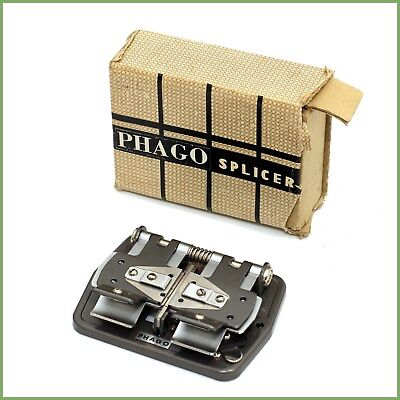 *VINTAGE* Phago video film splicer - boxed & warranty