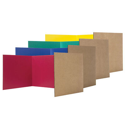 Flipside Privacy Shield Assorted Colors 24Ct 18H X 48W 61849
