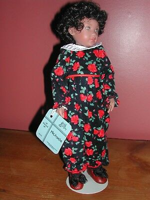 "Kish & Co. Michaela ""All Dressed Up"": Collector Vinyl doll"
