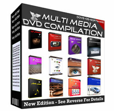 Multipack- Multimedia Audio,video,image, & Web Editing