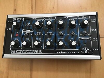 Technosaurus Microcon 2 analog Synthesizer