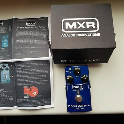 MXR Bass Octave Deluxe (M-288, M288) Octaver Analog