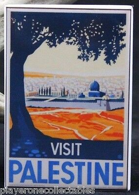 TW61 Vintage 1947 Visit Palestine Ancient Beauty Travel Poster Print A4
