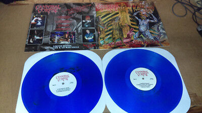 CANNIBAL CORPSE - Hammer Smashed Holland (BLUE VINYL!!!) 125 Copies!!!