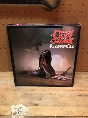 Ozzy Blizzard Of Oz LP Original Immaculate