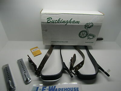 Buckingham Steel Tree Climbing Spurs Without Pad And Upper Straps