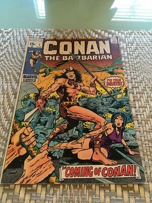 Conan the Barbarian #1 (Oct 1970, Marvel)
