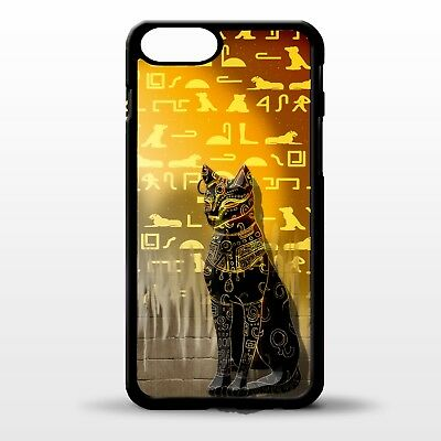 Cat Ancient egyptian Cat hieroglyphic pyramid pattern graphic phone case cover
