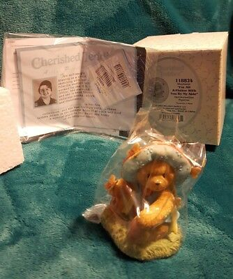 "Nib 2004 Cherished Teddies Stephanie ""i'm All A Flutter With You By My Side"""