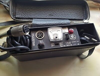 Vintage Bolex Paillard X-55 Battery Pack for H16mm Movie Camera