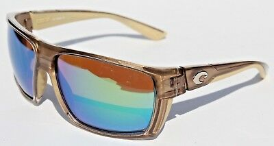 1ed64877f35 COSTA DEL MAR Hamlin POLARIZED Sunglasses Crystal Bronze Green Mirror 400G  NEW