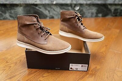 c1644e99dd4 UGG MENS LAMONT Leather and Suede Boot Chestnut Size 12 Model: 1013305