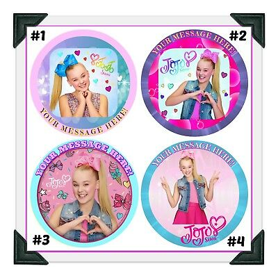 JoJo Siwa Edible Image Cake Topper Photo Icing Frosting Sheet