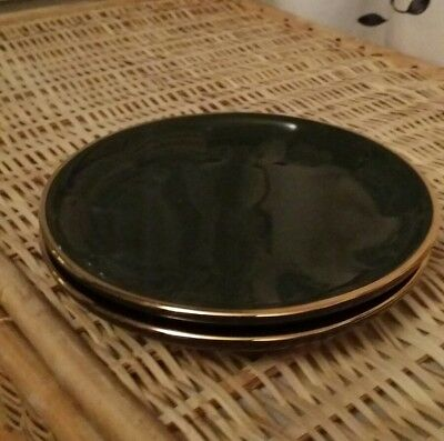 Appealing Apilco Green And Gold Plates Ideas - Best Image Engine ...
