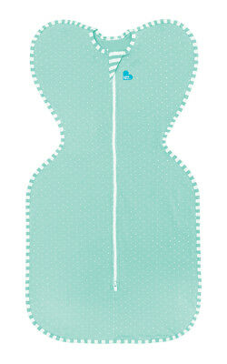 Love to Dream Swaddle Up Lite - 3 SIZES - MINT - ZIP UP BABY SWADDLE 0.2TOG