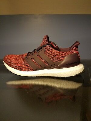 9d6df2e3b38 ... adidas ultraboost 4.0 noble red maroon size 9.5 mens new deadstock w