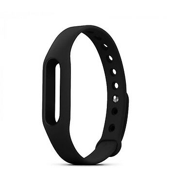 Replacement strap silicone for bracelet watch Xiaomi Mi Band 2 Colour Black
