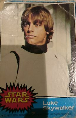 68 original 1970s star wars trading cards