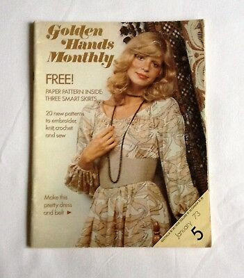 Golden Hands Magazine No.5 - January 1973 - Includes Pattern