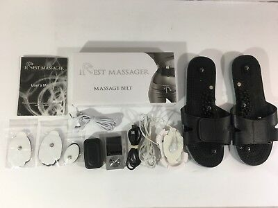 IREST Professional Tens Massager Machine Drug Free Pain Management & Weight Loss
