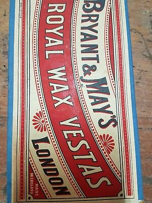 Bryant & May's Royal Wax Vestas  Matches London