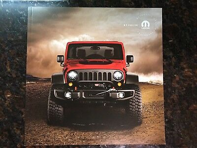 2017 JEEP WRANGLER 36-page Original ACCESSORIES Sales Brochure