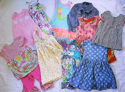 Girls Dresses Top Jean Jacket Lot J KHAKI CIRCO OSH GOSH GYMBOREE 10 Pc Sz 5T