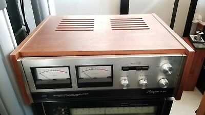 Accuphase P-300 Stereo Power Amplifier_MINT WITH WOOD CASE