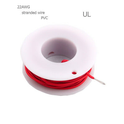 UL 1007 22AWG DIY Electric Wire 22 Gauge Coper Hook Up Stranded Cable Cord