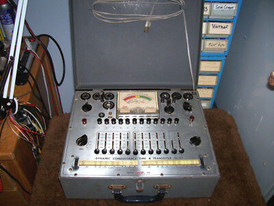 Vintage Eico Model 666 Dynamic Tube And Transistor Tester