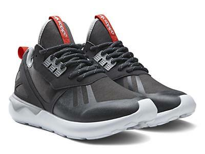 official photos f69a0 f21f6 New Men s adidas Originals Tubular Runner Weave Trainers Grey Size UK 12