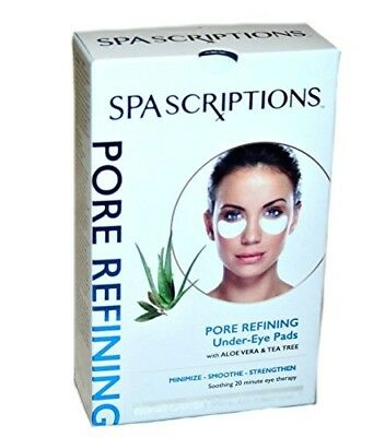 SPAscriptions Pore Refining Under Eye Pads with Aloe Vera & Tea Tree